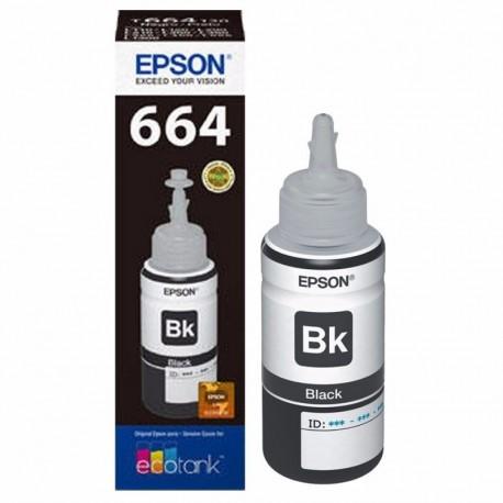 Botellas de Tinta Epson T664 Black